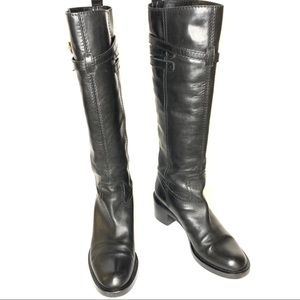 Gucci Tall Boots in Black Size 7.5